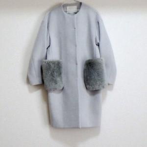 ミニマリストの持ち物ウールコート