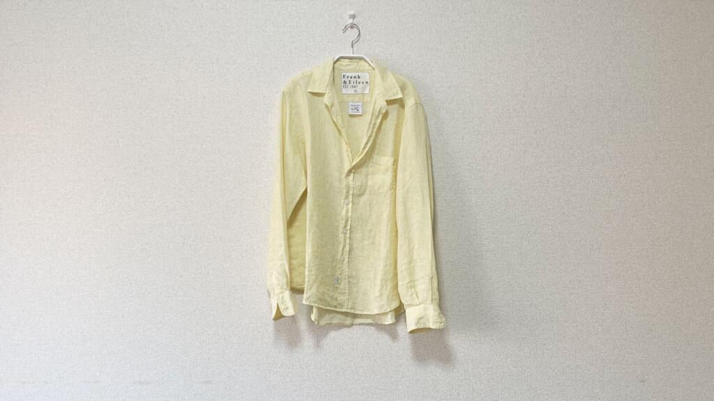 フランク&アイリーンのリネンシャツ